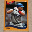2002 TOPPS BASEBALL - Texas Rangers Team Set (Series 1 & 2)