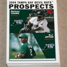 2004 TOPPS BASEBALL - Tampa Bay Devil Rays Team Set (Series 1 & 2)