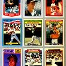 Lot of (9) TOPPS GLOSSY Mark McGwire Baseball Cards - Oddball / Rare
