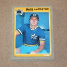 1985 FLEER BASEBALL - Seattle Mariners Team Set
