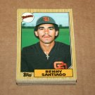 1987 TOPPS BASEBALL - San Diego Padres Team Set + Traded Series