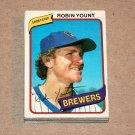 1980 TOPPS BASEBALL - Milwaukee Brewers Team Set
