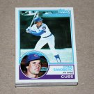 1983 TOPPS BASEBALL - Chicago Cubs Team Set + Traded Series