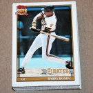 1991 TOPPS BASEBALL - Pittsburgh Pirates Team Set + Traded Series