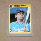 1985 FLEER BASEBALL - Kansas City Royals Team Set + Update Series