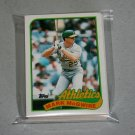1989 TOPPS BASEBALL - Oakland Athletics Team Set + Traded Series