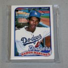 1989 TOPPS BASEBALL - Los Angeles Dodgers Team Set