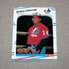 1988 FLEER BASEBALL - Montreal Expos Team Set + Update Series