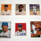Lot of (9) 1989 BOWMAN Baseball Card Sweepstakes Reprints