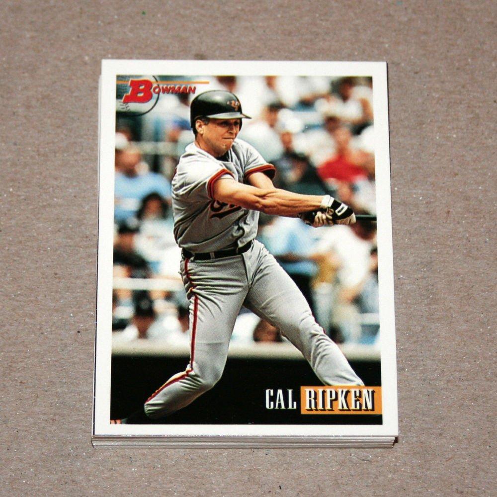 1993 BOWMAN BASEBALL - Baltimore Orioles Team Set