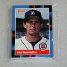 1988 DONRUSS BASEBALL - Detroit Tigers Team Set