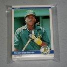 1984 FLEER BASEBALL - Oakland Athletics Team Set