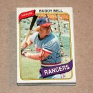 1980 TOPPS BASEBALL - Texas Rangers Team Set