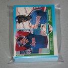 1987 FLEER BASEBALL - California Angels Team Set + Update Series