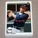 1990 UPPER DECK BASEBALL - Atlanta Braves Team Set + High Number Series