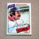 1980 TOPPS BASEBALL - Chicago Cubs Team Set