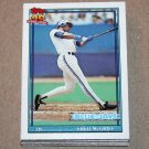 1991 TOPPS BASEBALL - Toronto Blue Jays Team Set + Traded Series