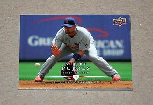2008 UPPER DECK BASEBALL - St. Louis Cardinals Team Set (Series 1 & 2)