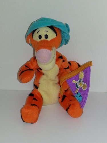 Disney Fisher Price Winnie the Pooh First Mate Tigger Bean Bag Plush 8""