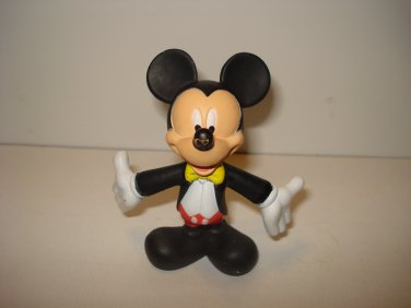 "McDonalds Mickey Mouse PVC Action Figure Disney Cake Topper 3"" (B)"