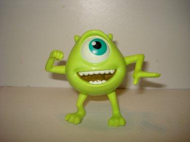 "McDonalds Mike Wazowski PVC Action Figure Disney Pixar Monsters Inc Cake Topper 3"""