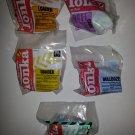 Mcdonalds 1994 Tonka trucks Happy Meal Toys Complete Set of 4 plus under 3- MIP