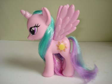 My Little Pony FIM G4 Princess Celestia Fashion Style glitter (0216)