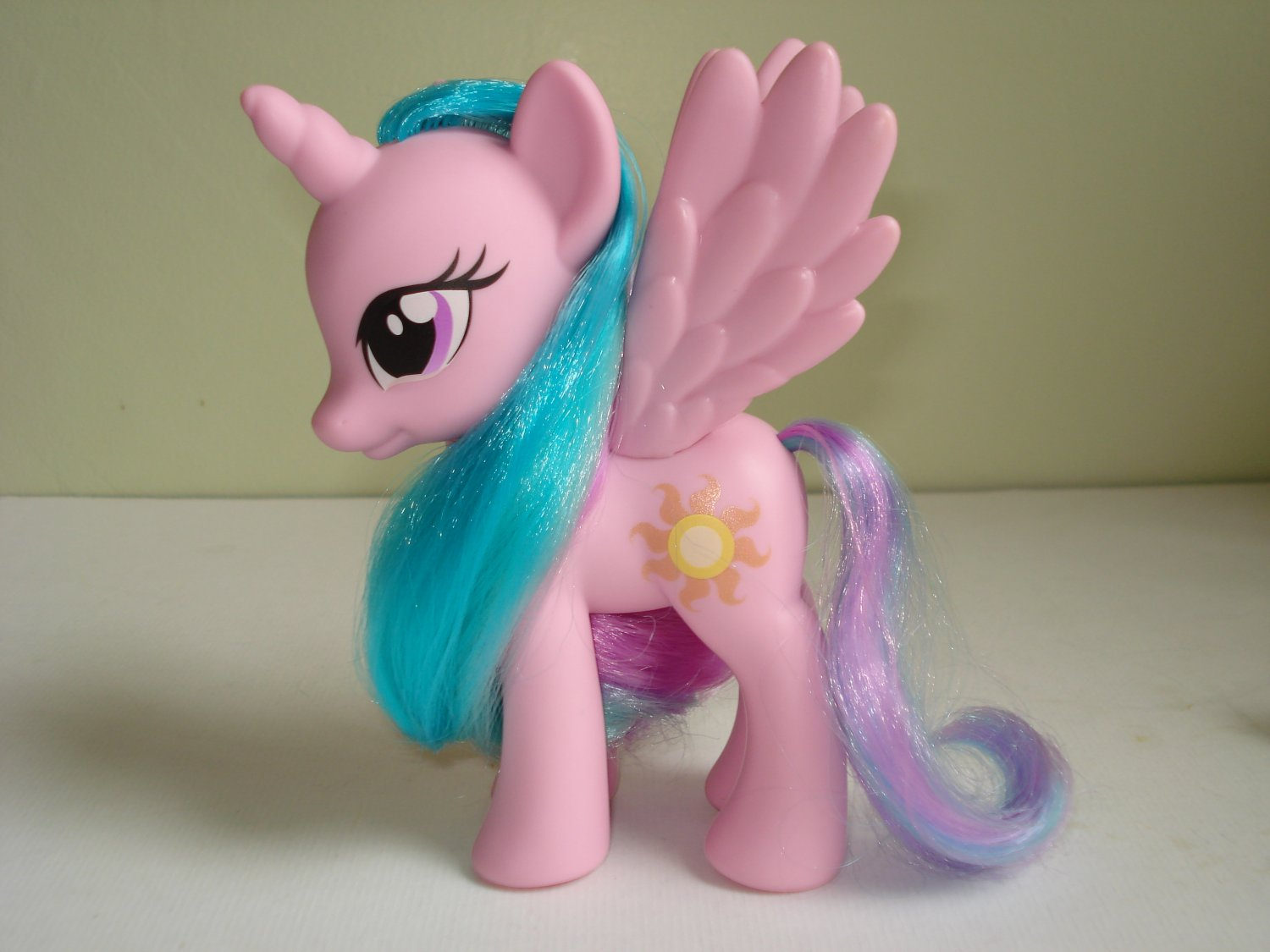 My Little Pony FIM G4 Princess Celestia Fashion Style no glitter (0000)