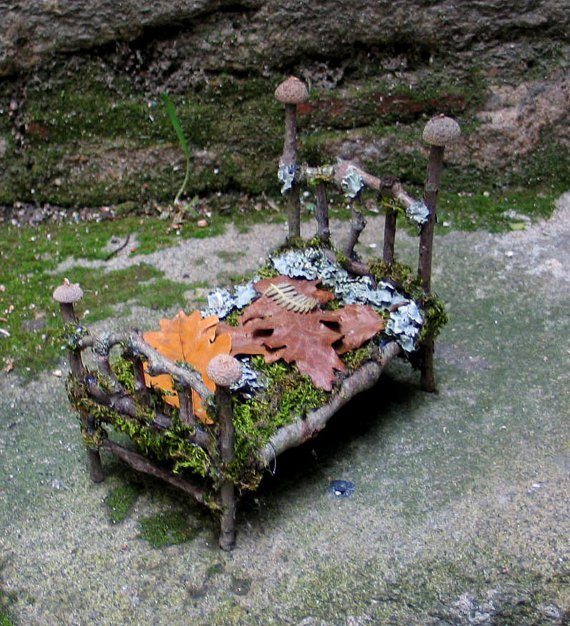 Fae Forest Custom Bed