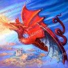 """Red Dragon"" print 20x24"
