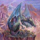 """Lone Dragon"" print 20x24"