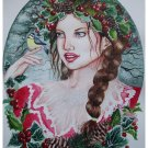 Faery Fantasy Custom Portrait Painting 13 x 17