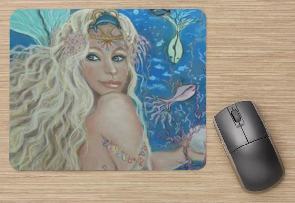 Mermaid 2 Computer Mouse Pad