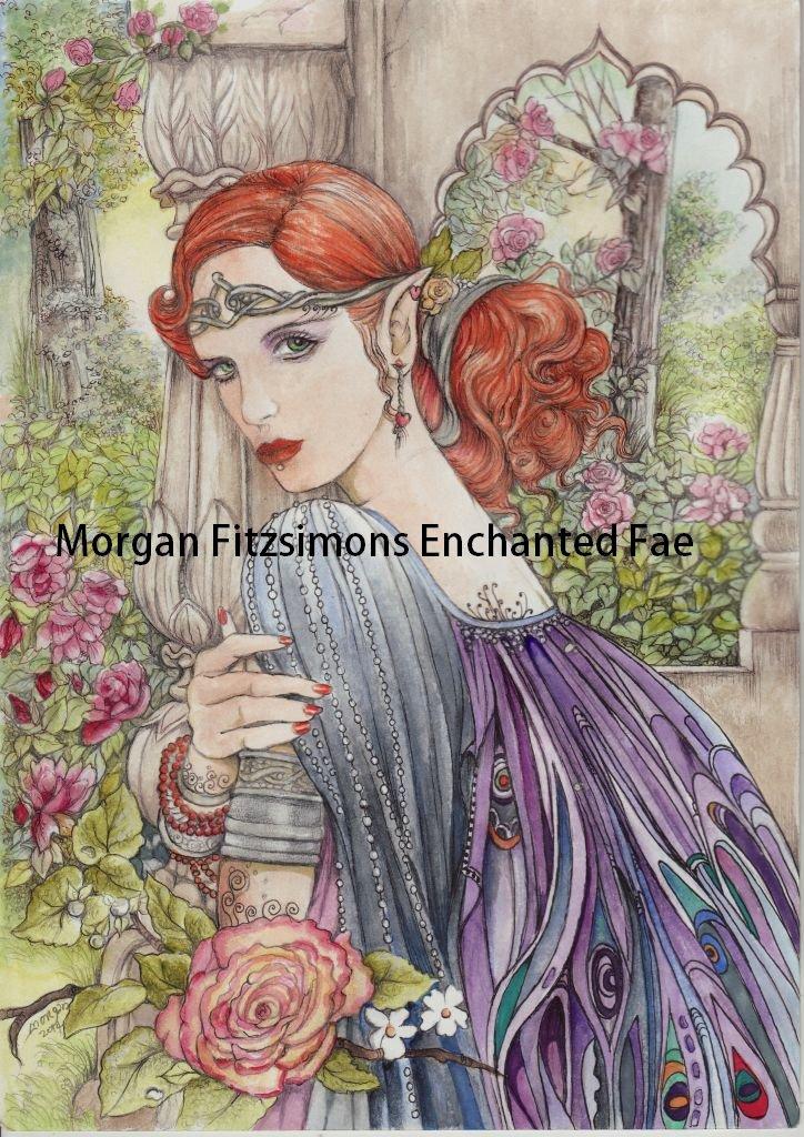 Elf Princess 24 x 16 FINE ART CANVAS FRAMED PRINT