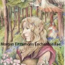 Guardian of The Deep Woods 12 x 8 FINE ART CANVAS FRAMED PRINT