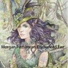 Ivy Greenleaf 12 x 8 FINE ART CANVAS FRAMED PRINT