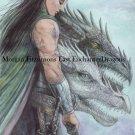 Blackthorn & The Royal Dragons 24 x 16 FINE ART CANVAS FRAMED PRINT