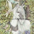 Aeshna and Unicorn 24 x 16 FINE ART CANVAS FRAMED PRINT