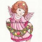 Christmas Angel 2 Digital & Printable Greeting Card