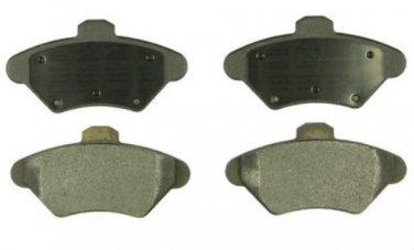 BrakeBest MKD600 Semi Metallic Disc Brake Pads, Mustang 93-98 Thunderbird 93-97