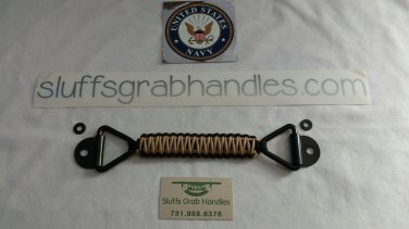 Jeep Cherokee (XJ) Para cord grab handles Tan and Black