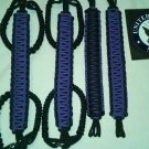 Jeep Wrangler JK, JKU 4 Door Paracord Grab Handles Purple & black Roll Bar