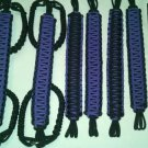Jeep Wrangler 4 Door Paracord Grab handles purple & black reverse For Roll Bar