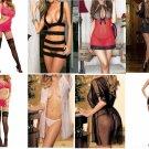 Free Shipping Wholesale Job Lot x 30 Sexy Lingerie Babydoll Sleepwear Nightwear Underwear