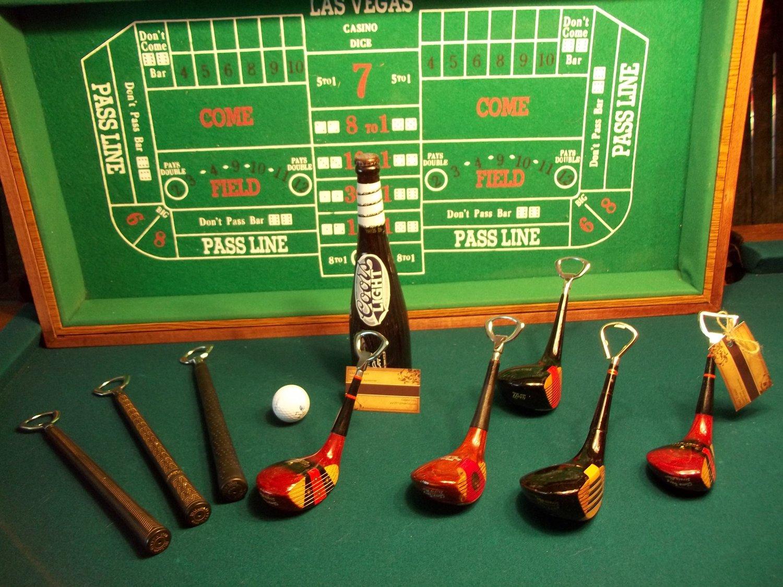 Vintage Golf Grip Bottle Opener