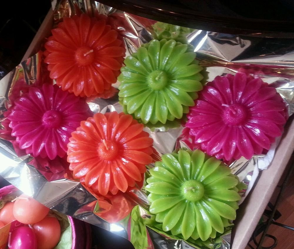 Bougies La Francaise Floating Flower Candles