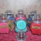 8 oz . Baltimore Style Jar Candle ~ Cranberry Apple Clove ~SALE