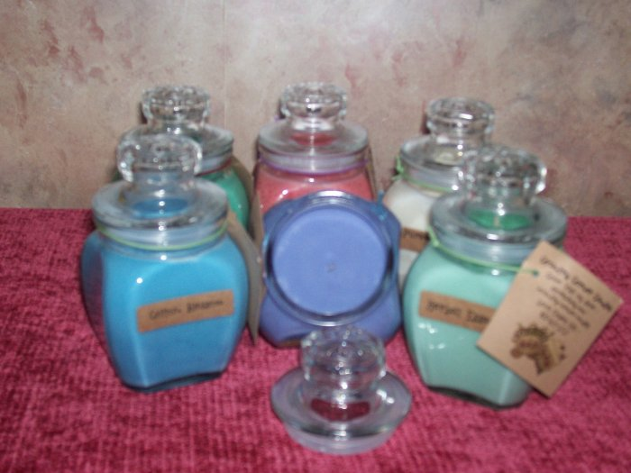 Custom Scented  ~ 8 oz . Baltimore Style Jar Candle
