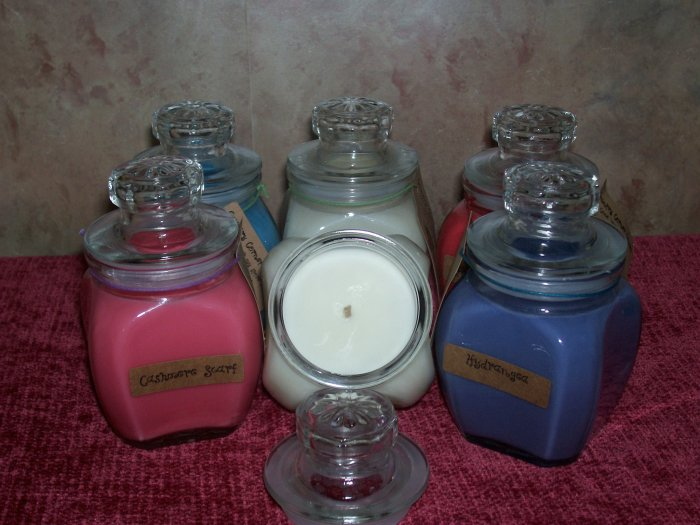 8 oz . Baltimore Style Jar Candle ~ Berry Bramble ~SALE~
