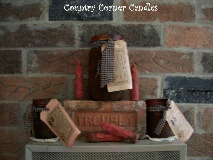 Custom Scented 8 oz. Grubby Jar Candle